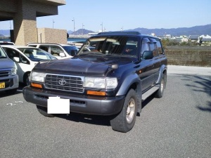 1995 toyota land cruiser hdj81v sale japan 210k