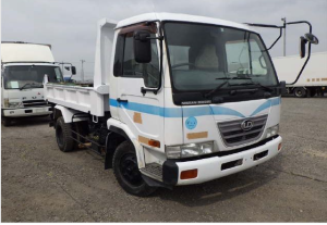 2002 Nissan Diesel MK25a tipper dump truck for sale in japan