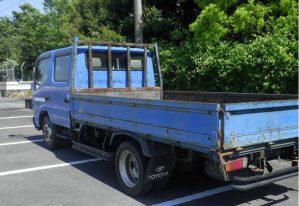 toyota dyna double cab xzu347 for sale in japan