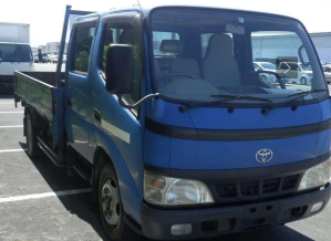 2004 toyota dyna double cabin xzu347 for sale in japan