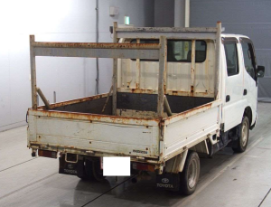 dyna kdy230 double cabin trucks for sale in japan