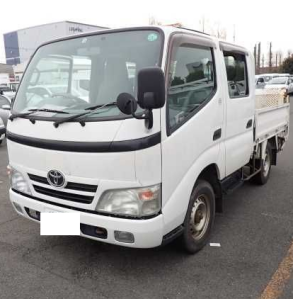 2008 toyota dyna double cab cabin kdy 281 kdy281 3.0 diesel automatic used truck trucks for sale in japan