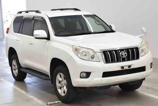2010 toyota land cruiser prado trj150 trj 150 trl150w 2.7 SUV 4WD for sale in japan 148k (1)