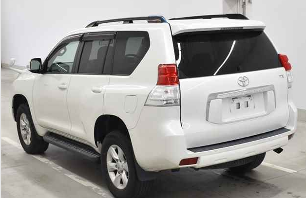2010 toyota land cruiser prado trj150 trj 150 trl150w 2.7 SUV 4WD for sale in japan 148k (2)