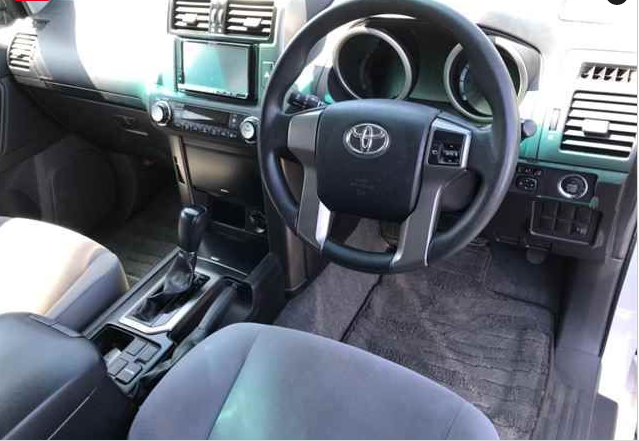 2010 toyota land cruiser trj150 trj prado 150 trl150w 2.7 SUV 4WD for sale in japan 148k-1 (2)