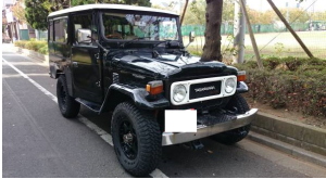1981 toyota land cruiser bj44 3.2 diesel for sale japan