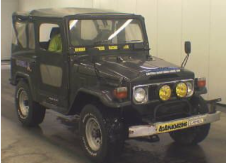 1984 BJ42 toyota land cruiser 3.4 diesel for sale japan 54k
