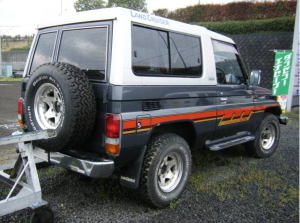 1988 toyota land cruiser bj74 3.4 diesel lx turbo for sale japan 140k-1