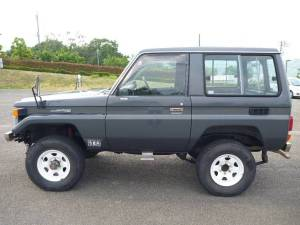 1989 toyota land cruiser bj70 sale japan 30k-1