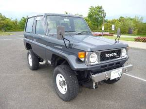 1989 toyota land cruiser bj70 sale japan 30k