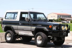 1989 toyota land cruiser bj74 for sale japan 190k