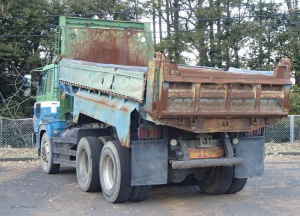 1992 hino super dolphin fs2 fs2fkad 17200cc diesel tipper dump truck for sale japan