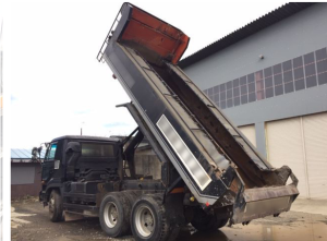nissanud cw520hvd tipper truck for sale