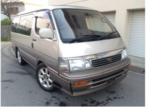 1995 toyota hiace wagon super custom sale japan 130k 3.0 diesel