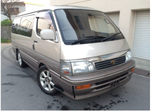 1995 toyota hiace wagon super custom sale japan 130k 3.0 diesel