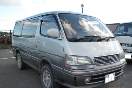 1996 toyota hiace awagon super custom ltd kzh106w 3.0 diesel for sale japan 230k