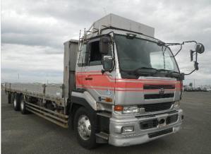nissan diesel UD cd48 flat trucks f