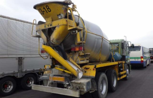 2001 FS4fkga 10ton concrete mixer for sale japan