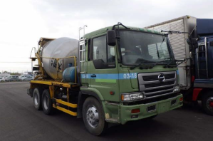 hino profia concrete mixer used for used japan