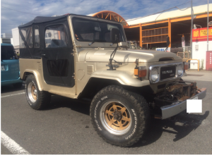 1979 toyota land cruiser bj41v 3.2 diesel for sale japan 108k-1