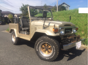 1979 toyota land cruiser bj41v 3.2 diesel for sale japan 108k