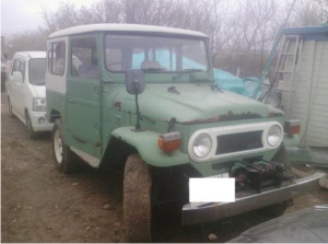 1980 toyota land cruiser bj41 3.2 diesel for sale in japan km-unknown