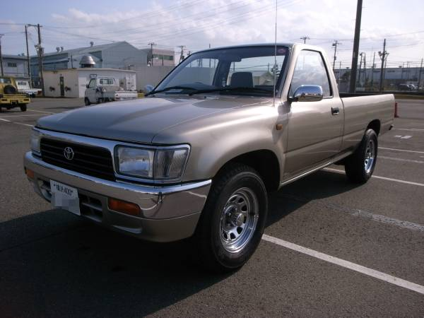 1997 toyota hilux single cab for sale japan jpn car name for sale japan burma mogok. Black Bedroom Furniture Sets. Home Design Ideas
