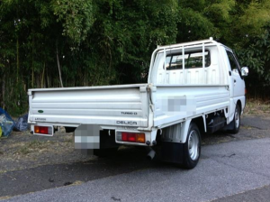 1998 mitsubishi delica diesel truck sale japan 50k-1