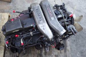 12h-t used engine MT hj61V 4.0 diesel for sale in japan
