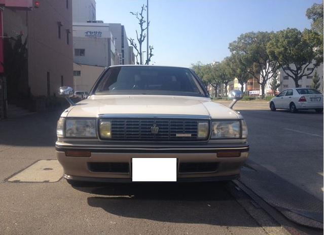 1991 toyota crown royal saloon supercharger gs131 2.0 for sale japan used 108k