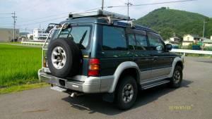 1995 mitsuabishi pajero v46wg 80k sales japan-1