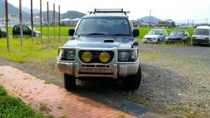 1995 mitsuabishi pajero v46wg 80k sales japan