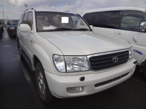 1999 toyota land cruiser uzj100 uzj100w g slection 4.7 for sale in japan 100k
