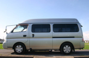 2003 nissan caravan coach qge25 2.4 10 seaters super long for sale japan 90k-2