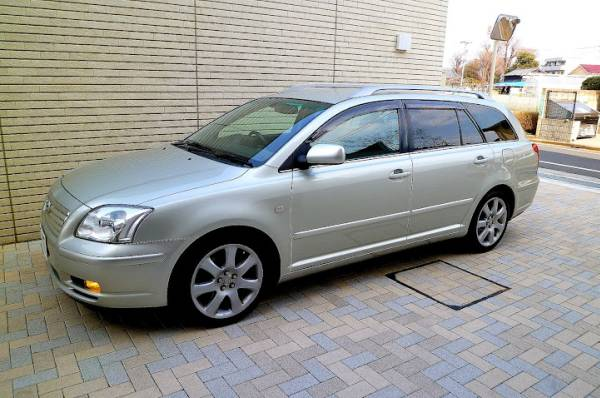 2003 2004 toyota avensis station wagon for sale japan jpn car name for sale japan is. Black Bedroom Furniture Sets. Home Design Ideas