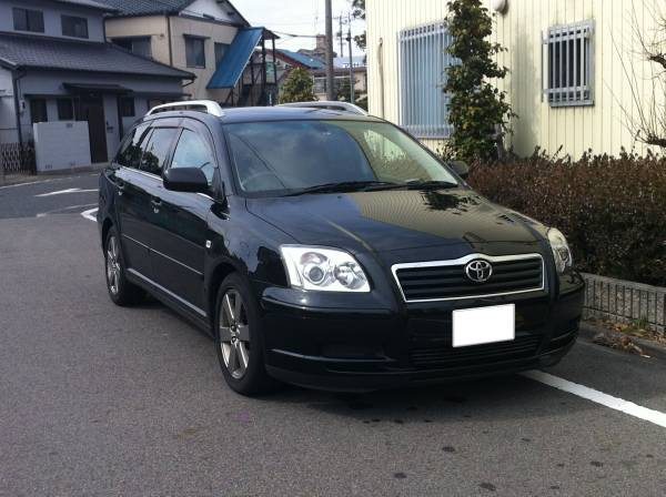 2003 2004 toyota avensis station wagon for sale. Black Bedroom Furniture Sets. Home Design Ideas