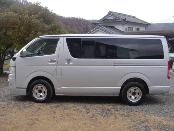 2005 toyota hiace regius ace kdh200v for sale japan jpn car name for sale japan is. Black Bedroom Furniture Sets. Home Design Ideas
