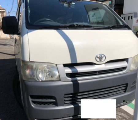 kdh 205 hiace van for sale japan