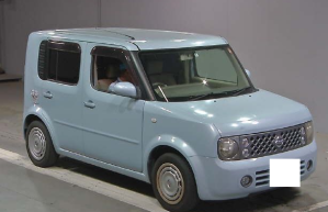 2006 Nissan cube BZ11 1.4 14s kagayaki edition for sale in japan
