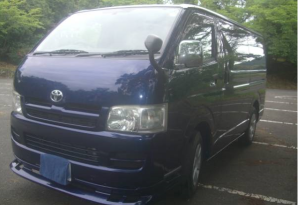 2006 toyota hiace kdh200 2.5 diesel for sale in japan 196k