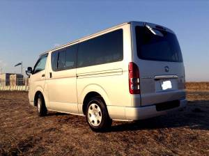 2006 toyota hiace van kdh200v AT 172k sale japan-1