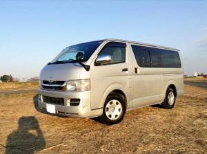 2006 toyota hiace van kdh200v AT 172k sale japan