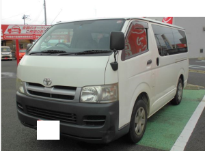 2007 toyota hiace van dx kdh200 kdh200v 2.5 diesel for sale in japan 245k-1