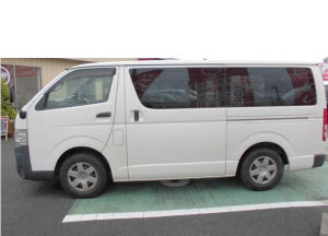 2007 toyota hiace van dx kdh200 kdh200v 2.5 diesel for sale in japan 245k