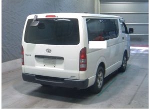 2007 toyota hiace van long dx kdh200 kdh200v 2.5 diesel for sale in japan 302k-1