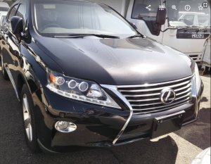 2012 lexus rx270 rx 270 agl10 agl10w for sale in japan 2 cars used