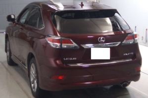 2012 lexus rx270 rx 270 agl10 agl10w for sale in japan 98k-1 2.7 used cars