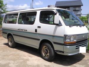 1992 toyota hiace super gl lh119 lh119v 2.8 diesel for sale in japan 104k
