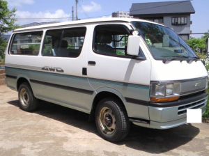 1992 toyota hiace super gl lh119 lh119v 2.8 diesel for sale in japan 104k