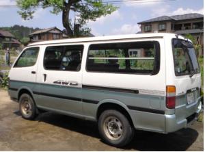 1992 toyota hiace super gl lh119 lh119v 2.8 diesel for sale in japan 4wd 104k-1